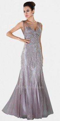 Mignon Sheer Illusion Evening Dresses