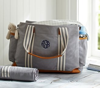 Pottery Barn Kids Gray Classic Diaper Bag