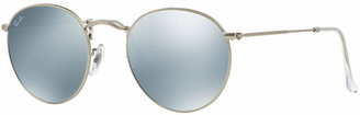 Ray-Ban Sunglasses, RB3447 50 Round Metal $175 thestylecure.com