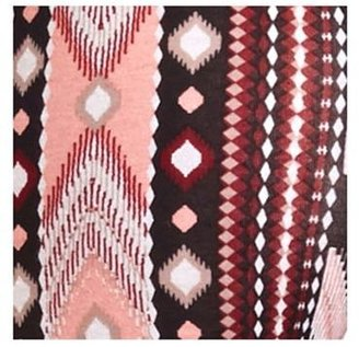 Charlotte Russe Cotton Geo-Tribal Printed Leggings