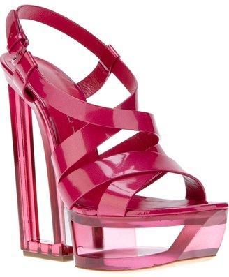 Casadei block heel sandal