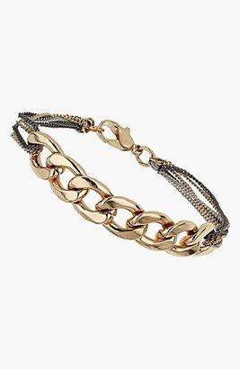 Topshop Mixed Chain Bracelet
