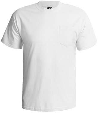 Hanes Beefy-T Pocket T-Shirt - Ring-Spun Cotton, Short Sleeve (For Men)
