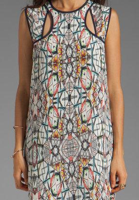 Funktional Kaleidoscope Cut Out Dress