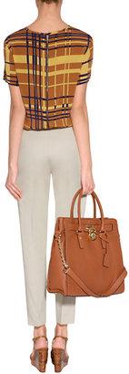 Ralph Lauren Blue Label Spring Beige Cotton New Ariana Skinny Pants