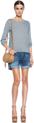 Citizens of Humanity Skyler Low Rise Loose Shorts in Serenity