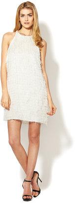 L'Agence Shag Pocket Shift Dress