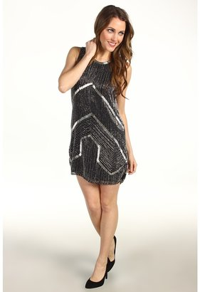 Parker Architect Beaded Dress (Black) - Apparel