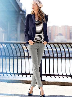 Victoria's Secret Pencil Low-rise Straight Jean
