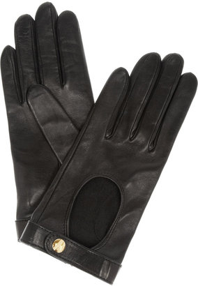 Yves Saint Laurent Chyc leather driving gloves