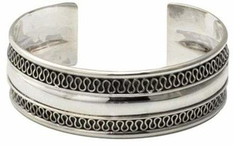 Novica Artisan Crafted Sterling Captivated Cuff