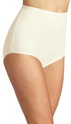 Vanity Fair Women's Perfectly Yours Tailored Cotton Brief Panty 15318 $10 thestylecure.com