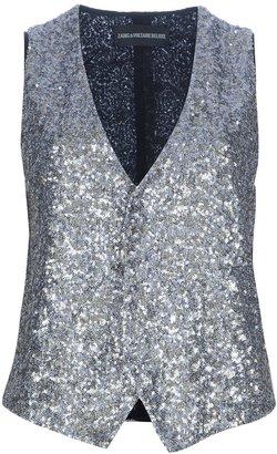 Zadig & Voltaire 'Emilie' sequined waistcoat