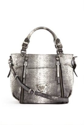 GUESS Presley Embossed Satchel