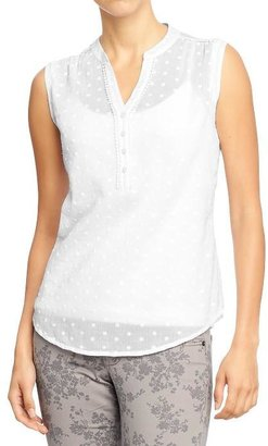 Old Navy Women's Sleeveless Gauze Tops