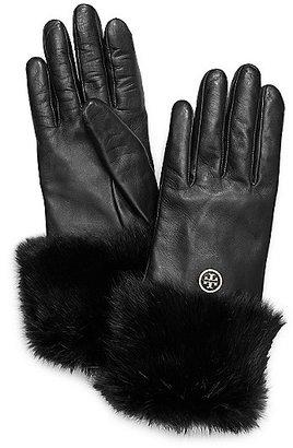Tory Burch Fur Cuff Glove
