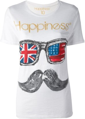 Happiness 'Flag Glass' t-shirt