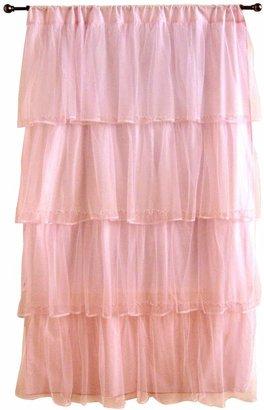 """Tadpoles TadpolesTMTulle 63"""" Curtain Panel- Pink"""