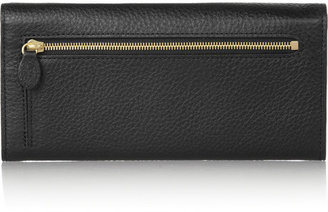 Mulberry Textured-leather continental wallet