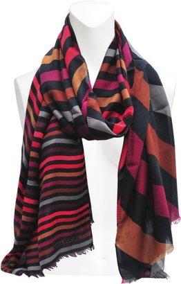 Sonia Rykiel Cashmere stripped scarf