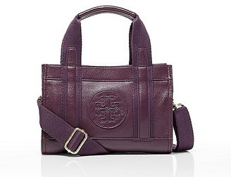 Tory Burch Leather Tiny Tory Tote
