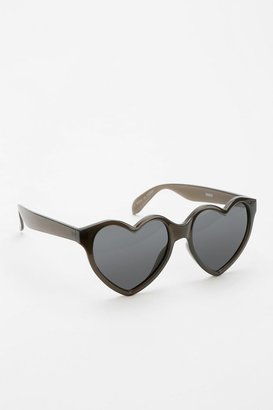 Urban Outfitters Bisou Heart Sunglasses
