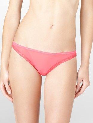 Calvin Klein Bottoms Up Leopard Print Bikini