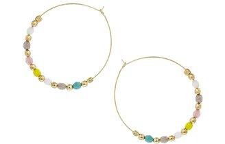 People Tree Love Beads Earring - Multi