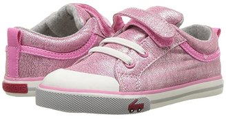See Kai Run Kids Kristin (Toddler/Little Kid) (Pink Glitter) Girls Shoes