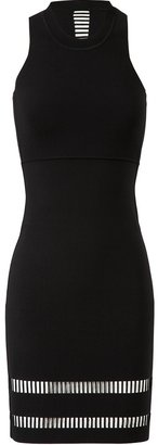 Alexander Wang Stretch-knit Dress with Laddered Inserts