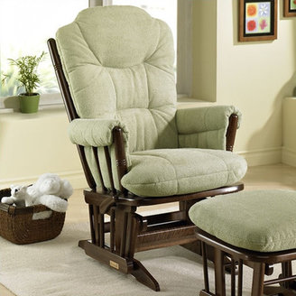 Dutailier 944 Maple Comfort Plus Two Post Glider