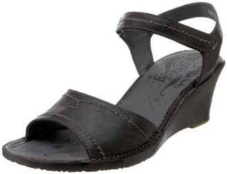 Groundhog Women's Windsor Ankle-Strap Wedge