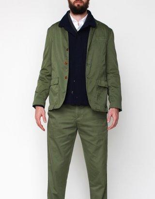 Apolis Standard Issue Civilian Blazer In Olive
