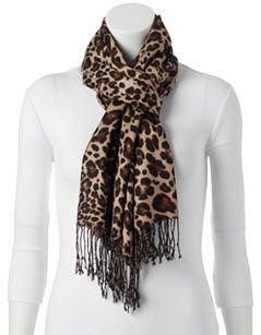 Apt. 9® Leopard Pashmina Scarf $20 thestylecure.com