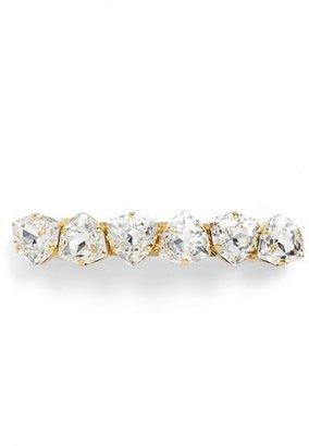 L. Erickson Swarovski Crystal Barrette $192 thestylecure.com