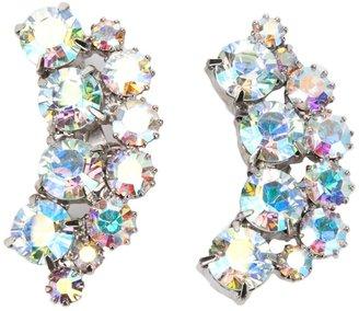 Jil Sander crescent cut glass brooch