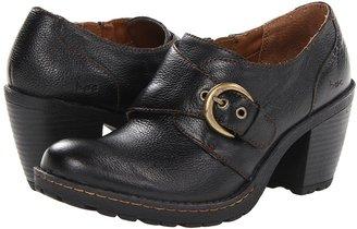 b.ø.c. Canty (Black Full-Grain) - Footwear