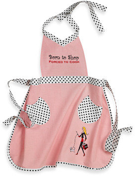 Bed Bath & Beyond Born to Shop, Forced to Cook Apron