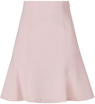 Emilio Pucci Light Begonia Wool-Crepe Skirt