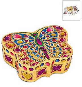 Melissa & Doug Melissa Doug Peel & Press Sticker by Number Butterfly Treasure Box