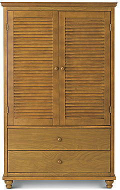 JCPenney Louvered Storage Armoire