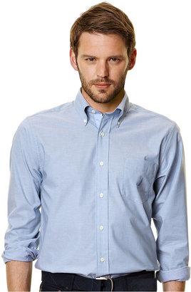 Nautica Shirt, Long Sleeve Solid Shirt
