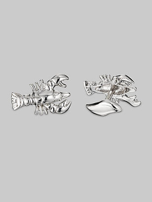Robin Rotenier Silver Lobster Cuff Links