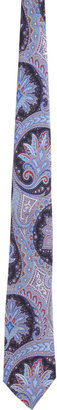 Barneys New York Paisley Print Tie