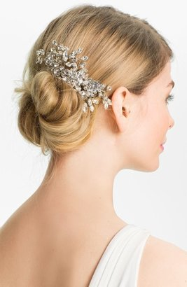 Halo & Co 'English Violet' Crystal Hair Comb