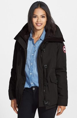 Women's Canada Goose 'Rideau' Slim Fit Down Parka $725 thestylecure.com