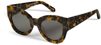 Karen Walker Northern Lights Sunglasses in Crazy Tortoise
