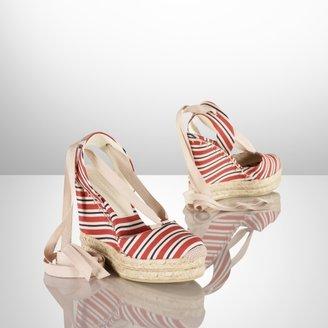 Ralph Lauren Gayle Multi-Striped Espadrille