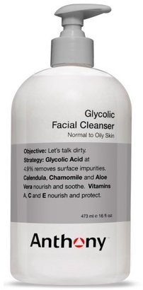 Anthony Logistics For Men TM) Glycolic Facial Cleanser