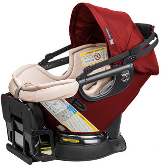 Orbit Baby G3 Infant Car Seat and Base in Ruby / Khaki